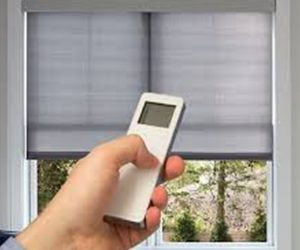 Motorized Curtains and Blinds
